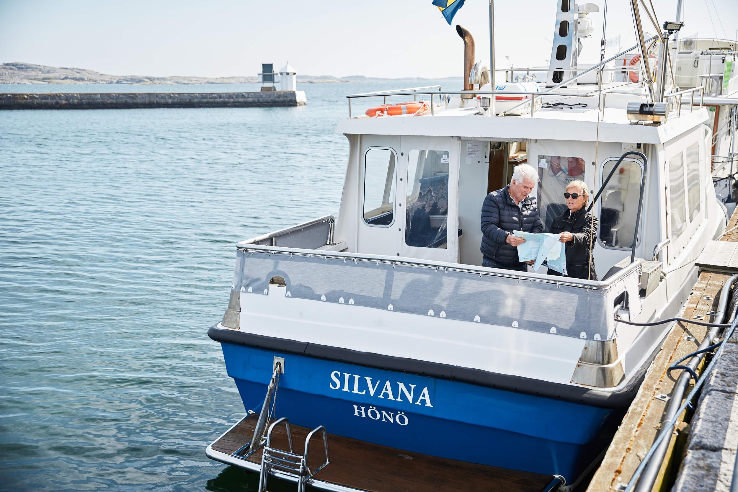 Båtturer och transporter till Vinga