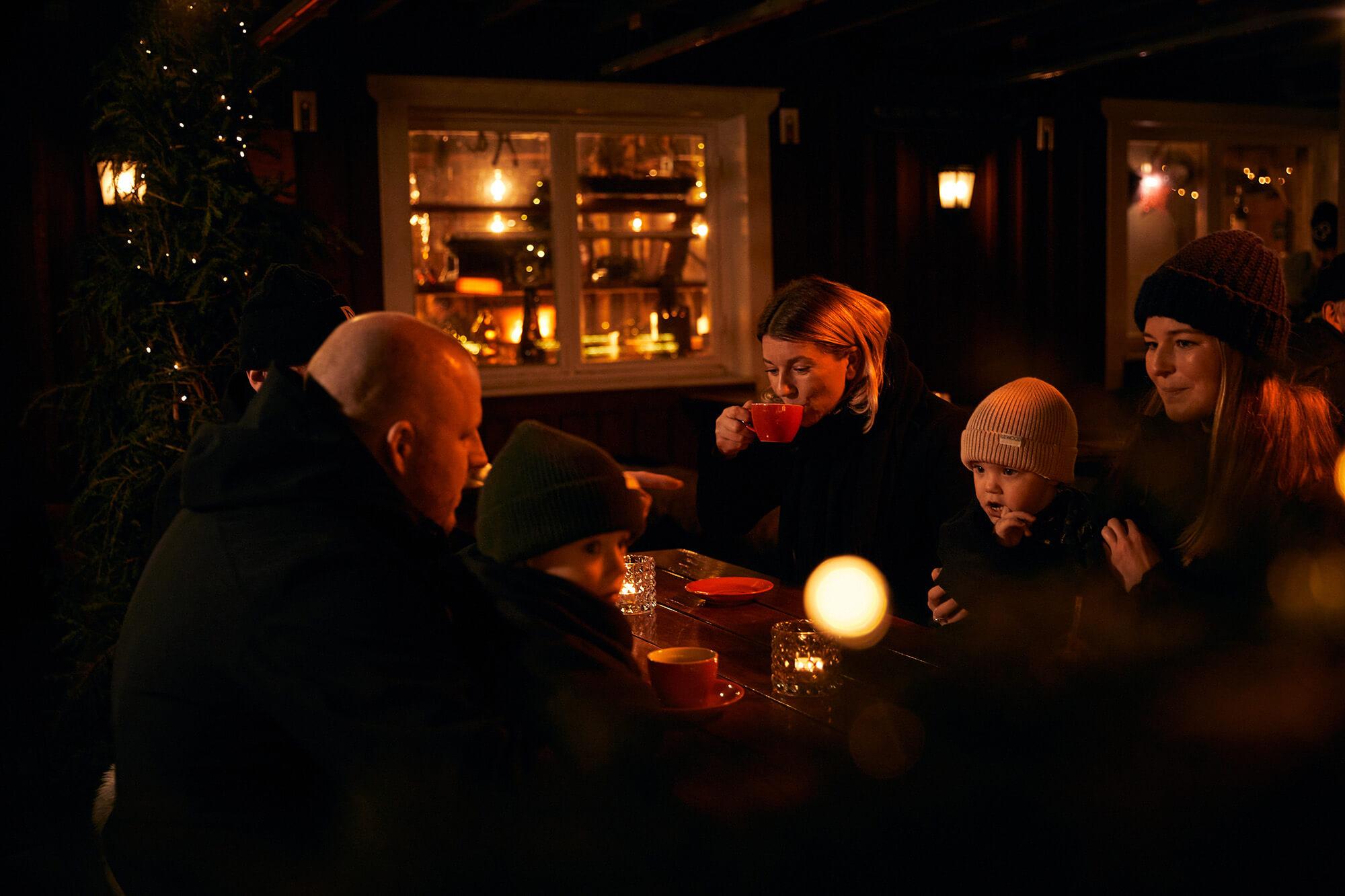 Ät och drick gott med nära och kära på Klåvas mysiga restauranger