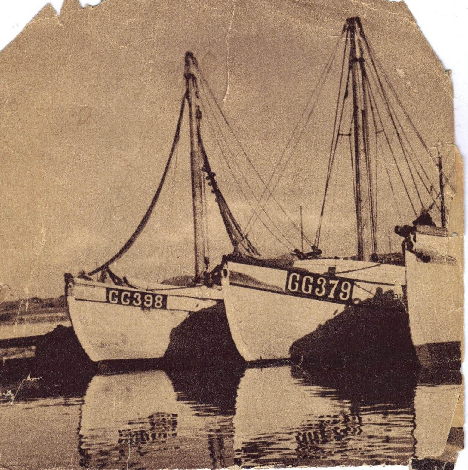 GG398 Bröderna, GG379 Titti, GG234 Kennedy | Bild: Fiskemuseet