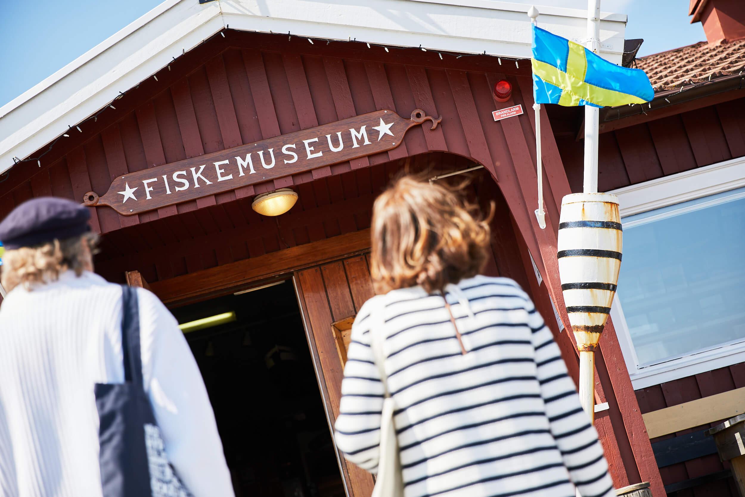 På muséet kan du se hur båtarna såg ut, var de byggdes och hur fisket bedrevs med olika redskap.